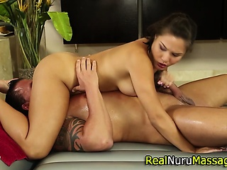 Asian palpate babe licked