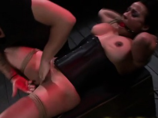 Bound asian filial fingered