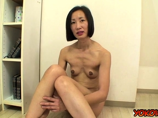 Japan mature casting with an increment of cumshot