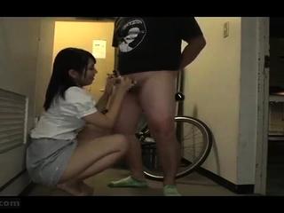 Hiraku Ukita Nasty Japanese Teen Enjoying A Laconic Cock