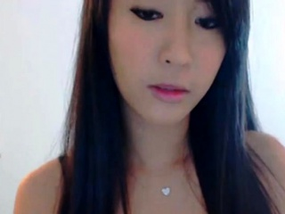 Cutest Asian Webcam Chick Striptease