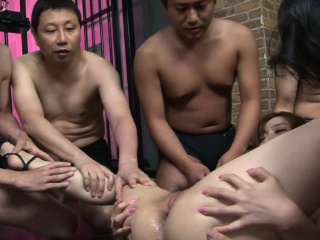Japanese Aiko Nagai had a group sex adventure, uncensored