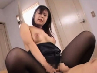 Tempting nipponese of age floozy gasping hard by big cock