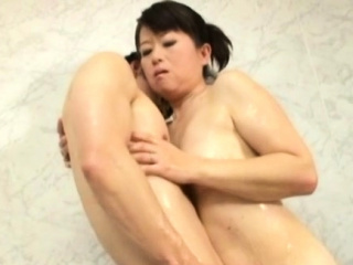 Divine girlfriend Chieko Oomura can't apprehend cumming from sex