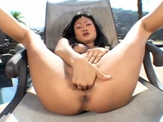 Layman American Chinese teacher masturbation