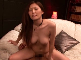 Kinky and horny Jap girl takes beyond two fat dicks in this Japanese threesome flick and she seems happy about it.