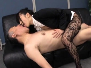Fat penis for an office mademoiselle