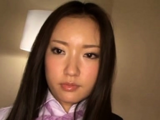 Firsthand east demoiselle Meisa Aoi flirts and gets licked
