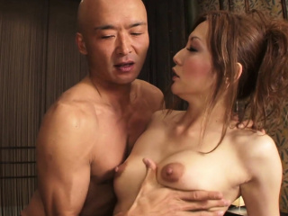 Erotic Asian sex ends in a sopping facial