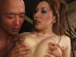 Erotic Asian sex fumbling in a stained facial