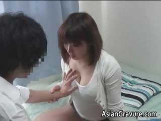 Hot asian accommodation billet teacher with big juggs part3