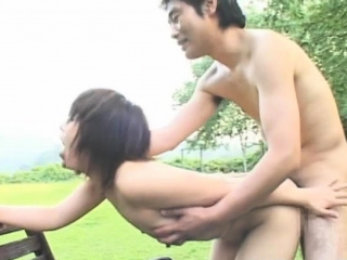 Beguiling japanese minx Ageha Aoi caresses fat boner