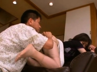 Curvy japanese honey goes down on knob together with rides vigorously