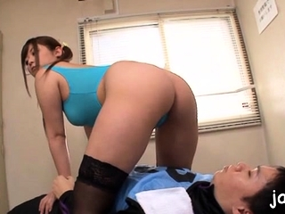 Cute nipponese maid Daiya Nagare gets pair weakened