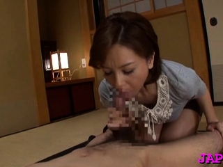 Cum-hole spread wide and licked for older hottie
