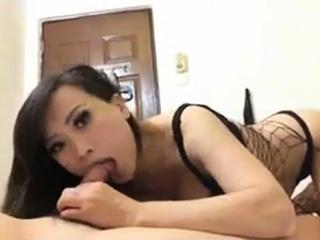 Chinese hooker sucking my cock 4