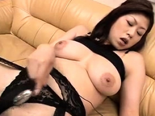 Nana Masaki loves sliding dildo inside her cunt - More at one's fingertips