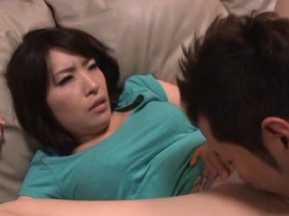 Enjoyable older japanese toddler gives a steaming blowjob