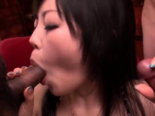 Hikaru Kirameki startling cock  - More at Slurpjp.com