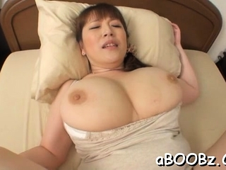Hot mature idol Nami Horikawa helter-skelter big tits enjoys rear fuck