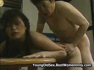 Japanese Asian Girl Lustful Love For Stepdad