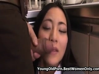 Babe Japanese Asian Fucked Away from Not Her Stepfather