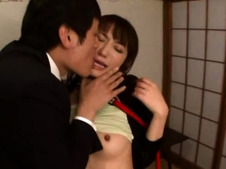 Swingeing japanese maid Saki Kouzai gets penetrated unfathomable cavity
