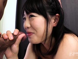 Japanese Anri increased by Kotomi POV Blowjob