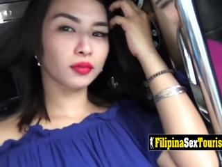 Tattooed Filipina teen is getting fucked