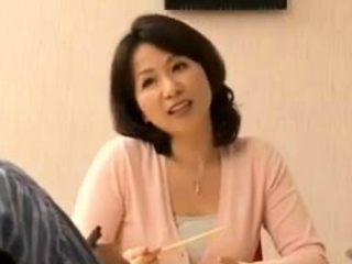 Carnal knowledge With My Asian Japanese Hot Aunt Nearly Home Kitchen