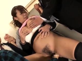 Asian japanese group sex bosom