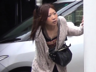 Japanese peeing babes get spied in excess of