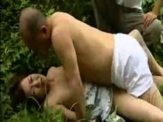 Seductive Asian milf has alfresco car sexual congress