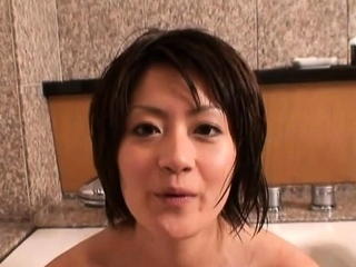 Dink sucking followed wits playful gf Yuki Hibino enjoyment from