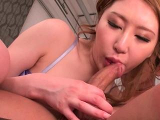 Japanese girl, Sayuki Hojo had hardcore sex, roundish