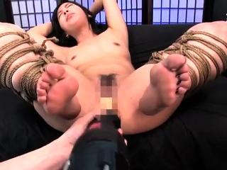Uncensored Japanese Amateur BDSM Lovemaking