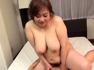 BBW Japanese Mature fucked Z