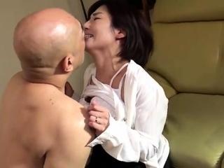 Keiko Etou Frying Teat Fucking Japanese Milf