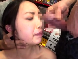 Hairy bottom fucked and taking a facial cumshot